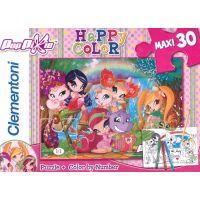 Clementoni Puzzle Pop Pixie (30 dílků) + Vymaluj si podle čísel