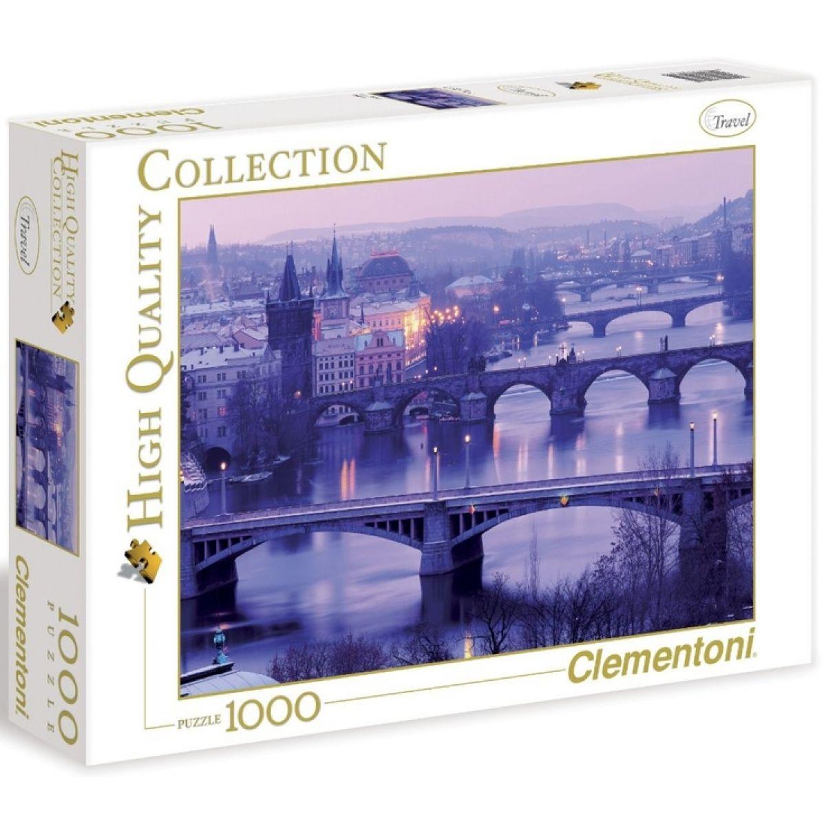 Clementoni 39161 - Puzzle 1000, Praha