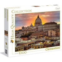 Clementoni Puzzle Řím Západ slunce 1000 dílků