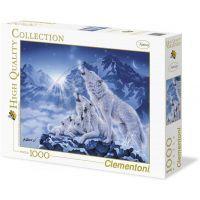 Clementoni Puzzle Rodina vlků 1000d