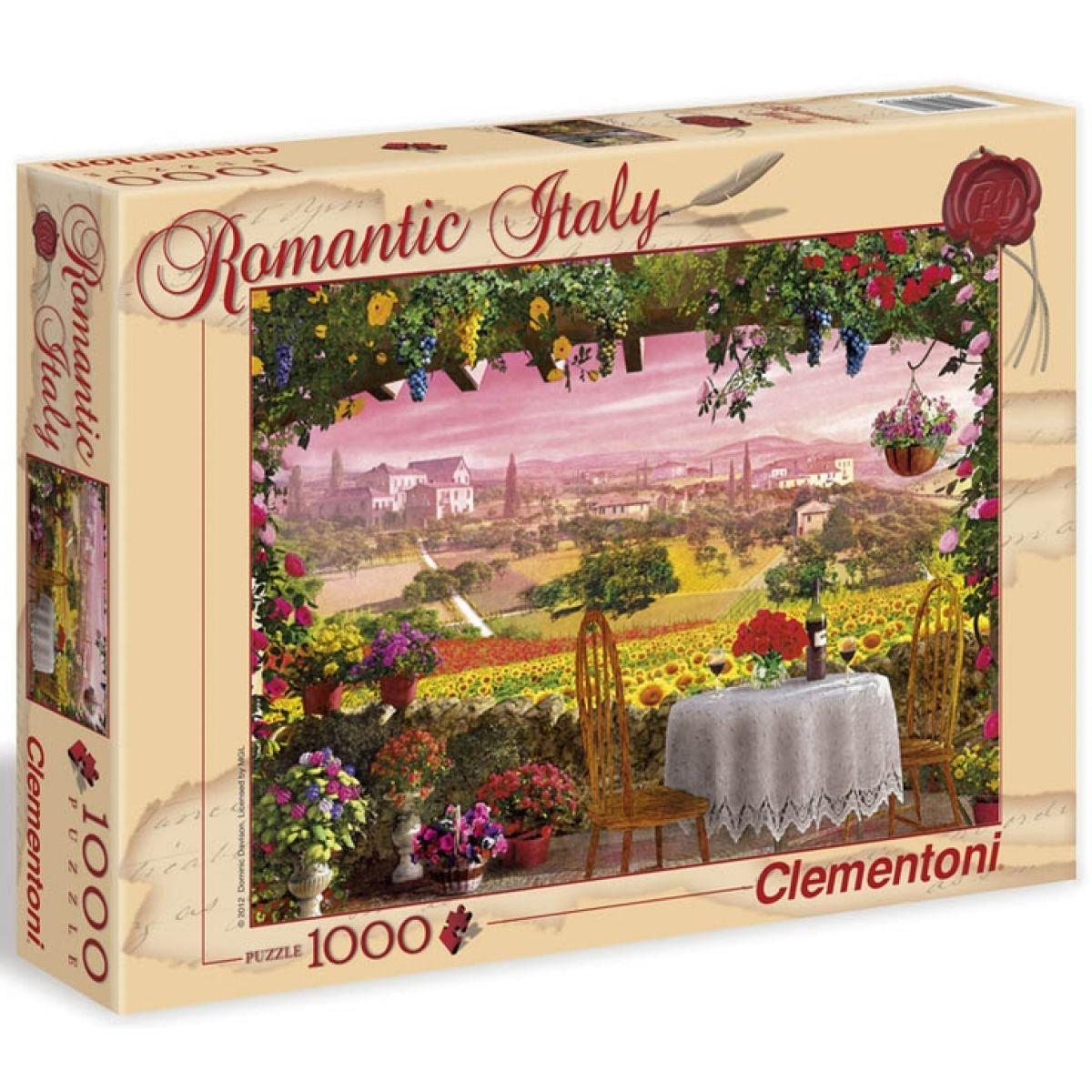 Clementoni Puzzle Romantic Toscana 1000d