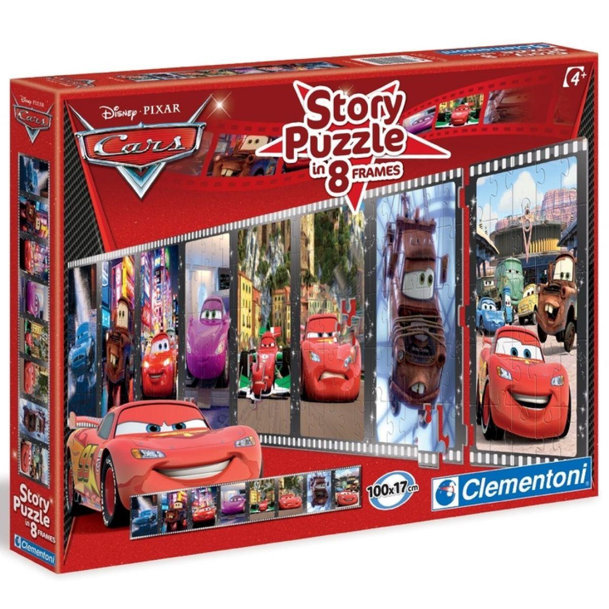Clementoni Cars Puzzle Story 200d