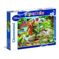Clementoni Puzzle Supercolor 2 x 20 dílků Klasic