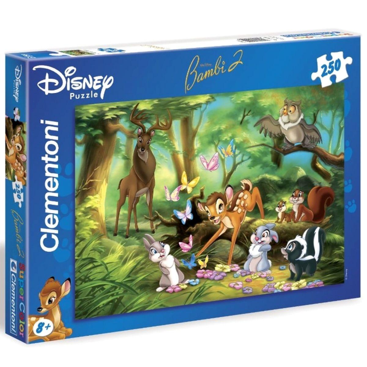 Clementoni 33C29429 - Puzzle Supercolor 250, Bambi