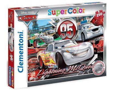 Clementoni 29691 - Puzzle Supercolor 250, Stříbrný závoďák