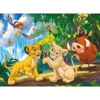 Clementoni 33C29530 - Puzzle Supercolor 250, Lví král 2