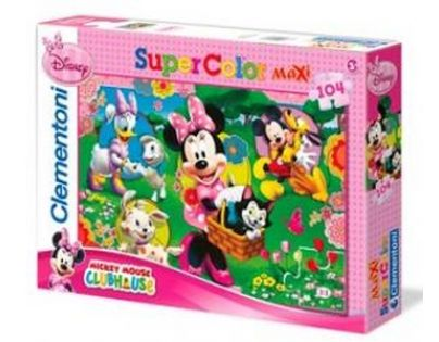 Clementoni Puzzle Supercolor Maxi Minnie 104d