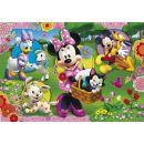 Clementoni Puzzle Supercolor Maxi Minnie 104d 2