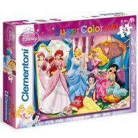 Clementoni 33C24420 - Puzzle Maxi 24, Princezny