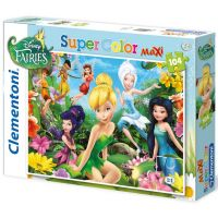 Clementoni 33C23649 - Puzzle Maxi 104, Víly