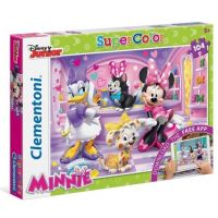 Clementoni Puzzle Supercolor Minnie 104 dílků