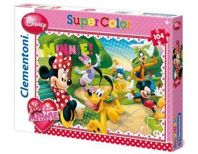 Clementoni 33C27889 - Puzzle Supercolor 104, Pěkné odpoledne