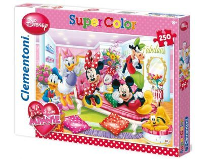 Clementoni 33C29703 - Puzzle Supercolor 250, Fabulous