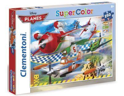Clementoni 29690 - Puzzle Supercolor 250, Letadla