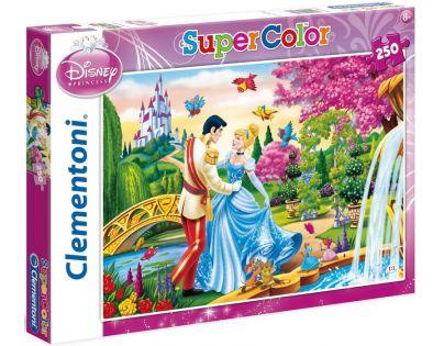 Clementoni 29707 - Puzzle Supercolor 250, Popelka