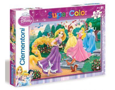 Clementoni 29660 - Puzzle Supercolor 250, Princezny