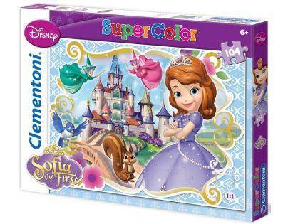 Clementoni 27893 - Puzzle Supercolor 104, Sofia