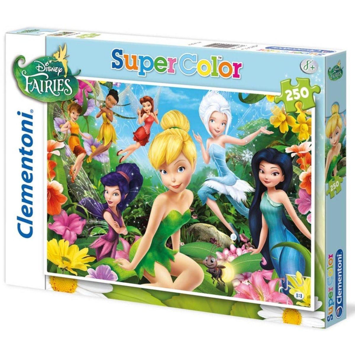 Clementoni 33C29700 - Puzzle Supercolor 250, Víly