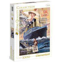 Clementoni 39271 - Puzzle 1000, Titanic