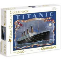 Clementoni 31960 - Puzzle 1500, Titanic