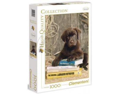 Clementoni 39230 - Puzzle 1000, Štěně Labrador