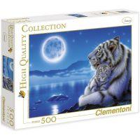 Clementoni Puzzle Tygři 500 dílků