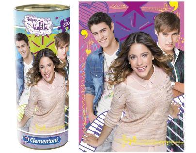 Clementoni 33C21703 - Puzzle Violetta tuba 350, Láska