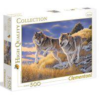 Clementoni Puzzle Vlci 500 dílků