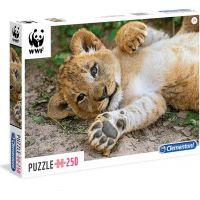 Clementoni Puzzle WWF Lvíče 250 dílků