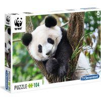 Clementoni Puzzle WWF Mládě Pandy 104 dílků