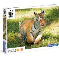 Clementoni Puzzle WWF Tygřík 104 dílků
