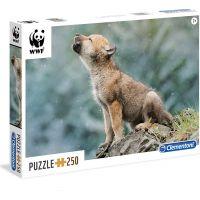 Clementoni Puzzle WWF Vlče 250 dílků