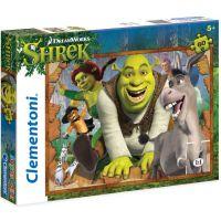 Clementoni Shrek Supercolor Puzzle 60 dílků