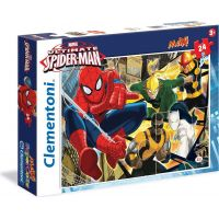 Clementoni Spider-man Born hero Supercolor Puzzle 60d