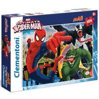 Clementoni SpiderMan Supercolor Puzzle Maxi 104 dílků