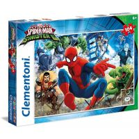 Clementoni Spider-man Supercolor Puzzle Sinister 6  104 dílků