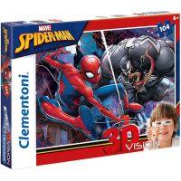 Clementoni Spiderman Puzzle 3D 104 dílků