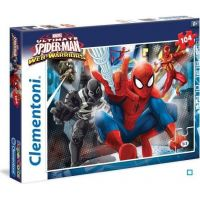 Clementoni Spiderman Puzzle Supercolor 104 dílků