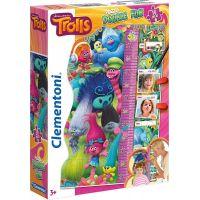 Clementoni Trollové Double Fun Puzzle Maxi 30 dílků