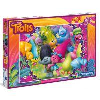 Clementoni Trollové Puzzle Maxi 100 dílků