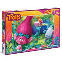 Clementoni Trollové Puzzle Maxi 30 dílků