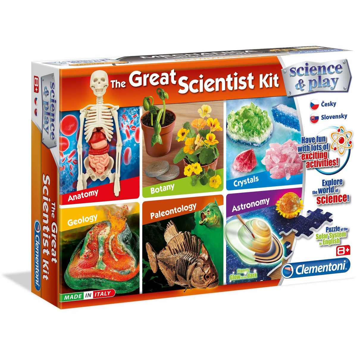 Clementoni Velká sada experimentů 6 v 1