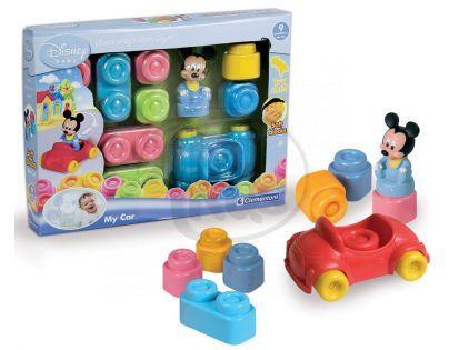Clementoni 14768.7 - Clemmy - Disney kostky a auto s Mickey Mousem