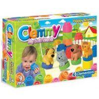 Clementoni 14773.1 - Clemmy - Zvířátka a barevné kostky