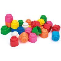 Clemmy baby 14889 - 24 kostek v plastovém pytli 2