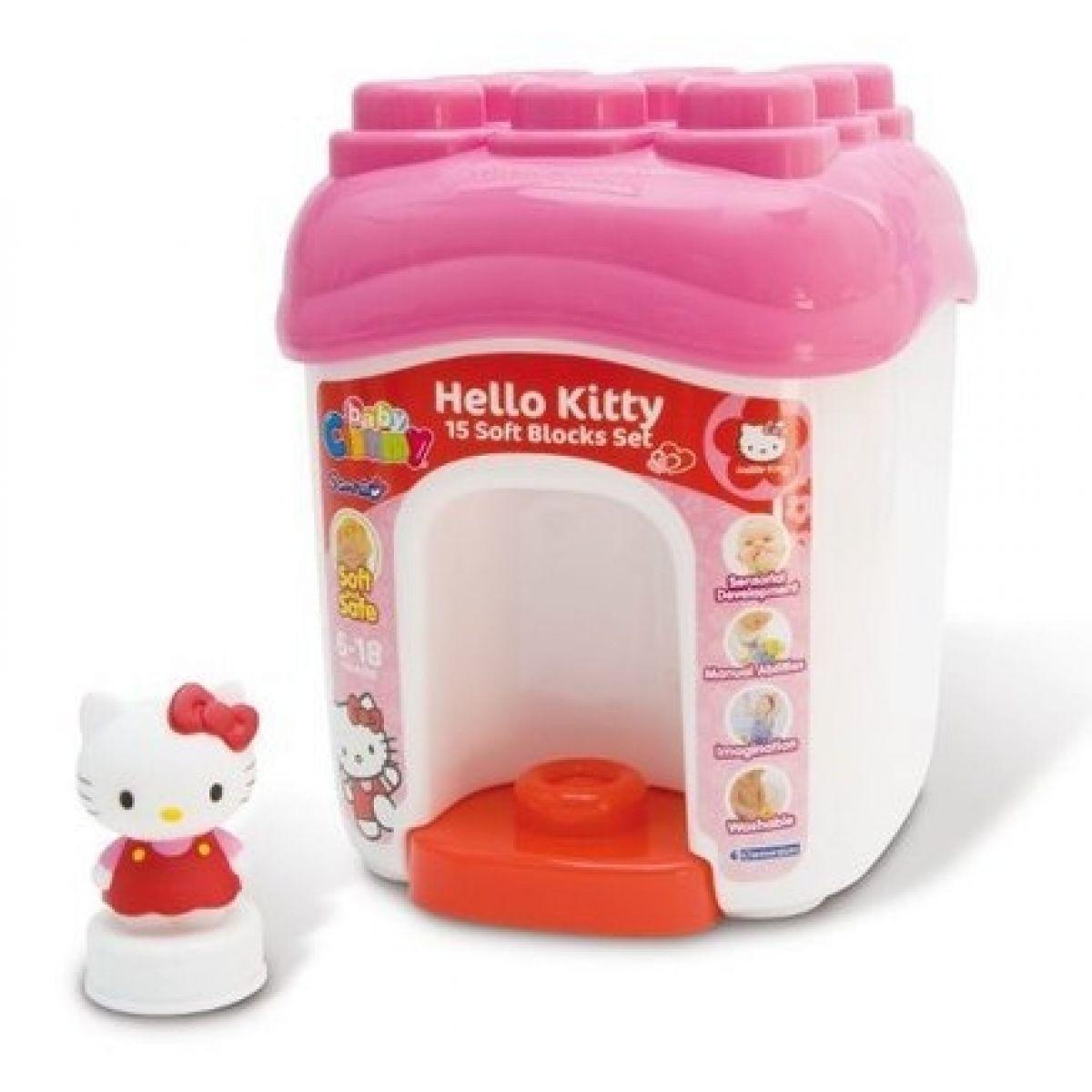 Clementoni Clemmy Baby Hello Kitty kyblík 15 kostek