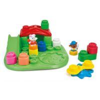 Clemmy Baby Veselý hrací stolek s kostkami a zvířátky 3