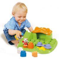 Clemmy Baby Veselý hrací stolek s kostkami a zvířátky 6