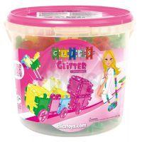 Clics Bucket Glitter 175 ks
