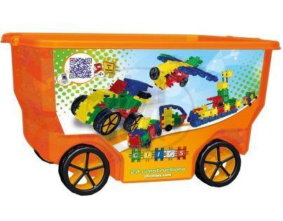 Clics Stavebnice RollerBox 400 ks